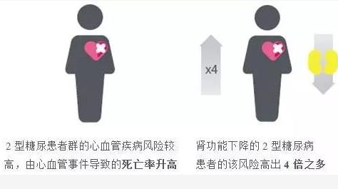 2型糖尿病患者群的心血管疾病风险图
